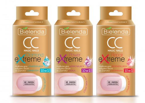 CC MAGIC NAILS 10 in 1 Nail conditioners