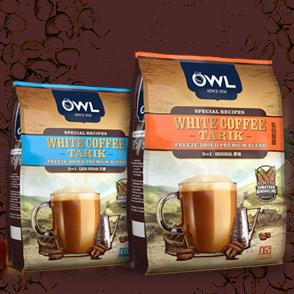 owl white coffee tarik in UAE