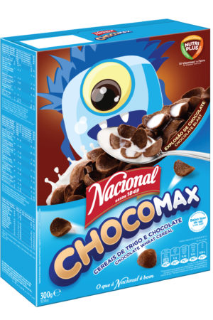 Nacional Chocomax Chocolate Wheat Cereal 300gm