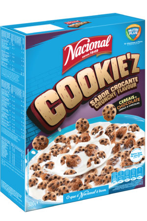 Nacional Cookies'z Cereals and Chocolate 300gm