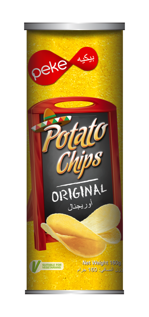 Peke Potato Chips Original 160g